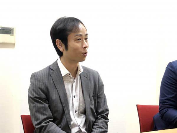 """「""""人材紹介業界""""で働く」とは インタビューに答える石郷さん"""